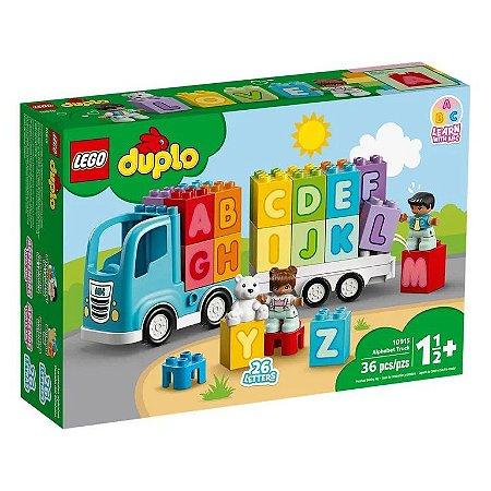Caminhão do Alfabeto 10915 - Lego Marvel Duplo