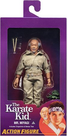 Boneco Karate Kid Mr.Miyage - Neca