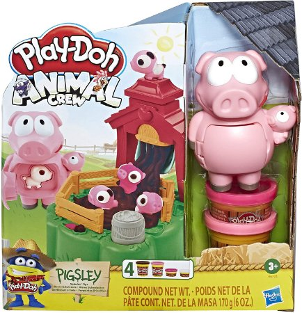 Play Doh Farm Porquinhos Brincalhões