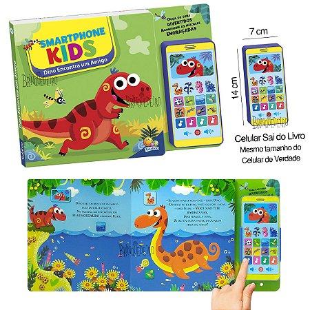 Livro Smart Baby Kids Dino Encontra um Amigo