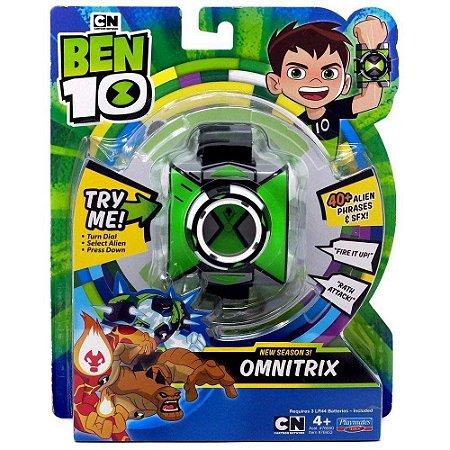 Relógio Ben 10 Omnitrix Som e Luz  - Sunny