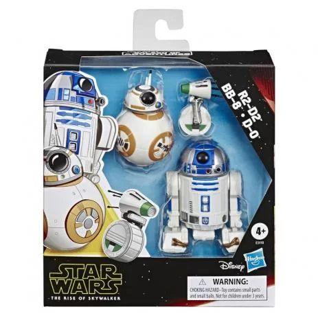 Boneco Star Wars Mini R2-D2/ BB-8/ D-0  - Hasbro