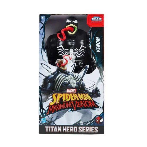 Boneco Venom Titan Heroes Series Blast Gear - Hasbro