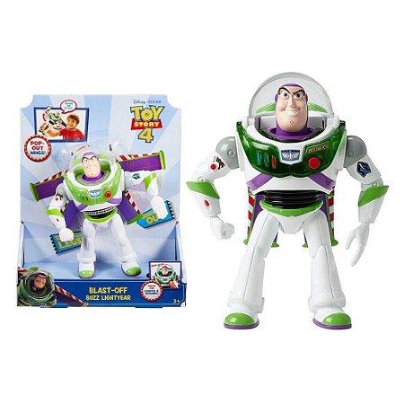 Boneco Toy Story 4 Buzz Lightyear Voo Espacial - Toyng