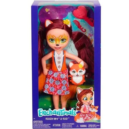 Boneca Enchantimals Felicity Fox e Flick - Mattel