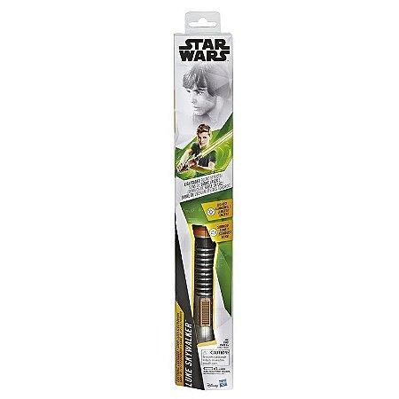 Sabre de Luz Eletrônico Star Wars Luke Skywalker - Hasbro
