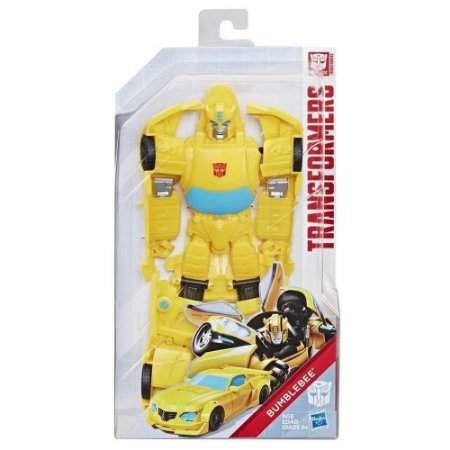 Boneco Transformers Titan Changers Bumblebee- Hasbro E5889