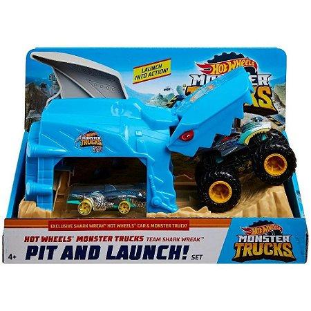 Pista Hot Wheels Monster Trucks Lançadores Radicais - Mattel
