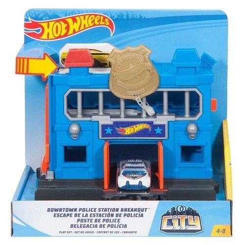 Pista Hot Wheels Delegacia de Polícia - Mattel