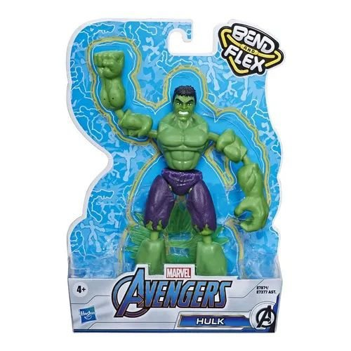 Boneco Hulk Vingadores Marvel Bend and Flex - Hasbro