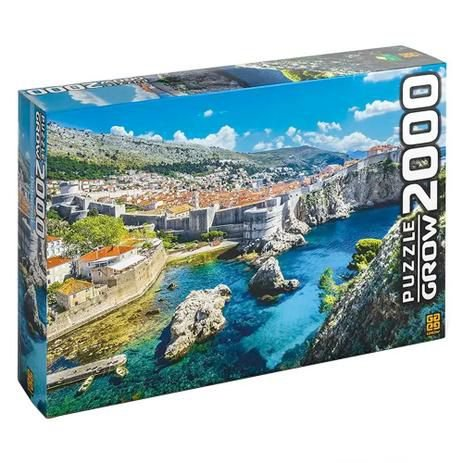 Quebra Cabeça Dubrovnik 2000 Peças Original Grow