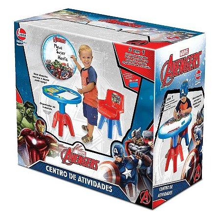 Centro de Atividades Marvel Vingadores Avengers - Líder
