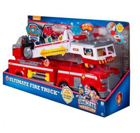 Brinquedo Veiculo Patrulha Canina Bombeiros Fire Truck