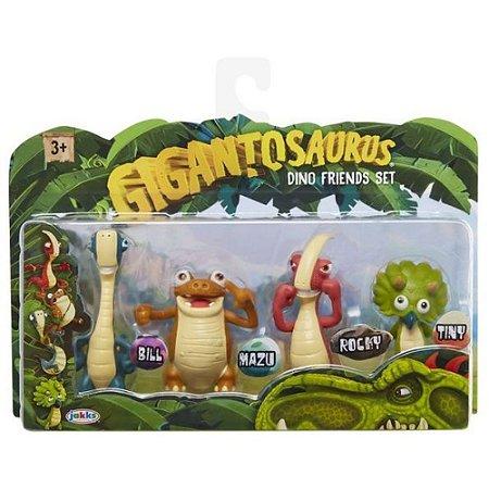 Dinossauros Gigantossauros 4 Best Friends Mimo