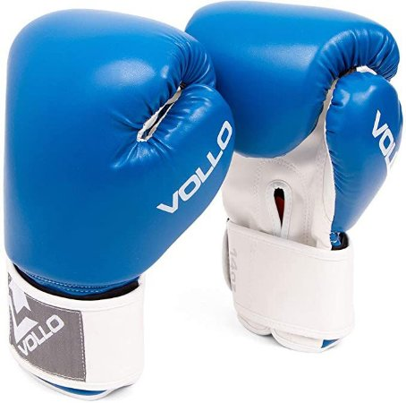 Luva de Boxe Azul Vollo Combat Original