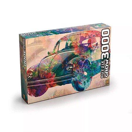 Quebra Cabeça 3000 Peças Carro Vintage Grow