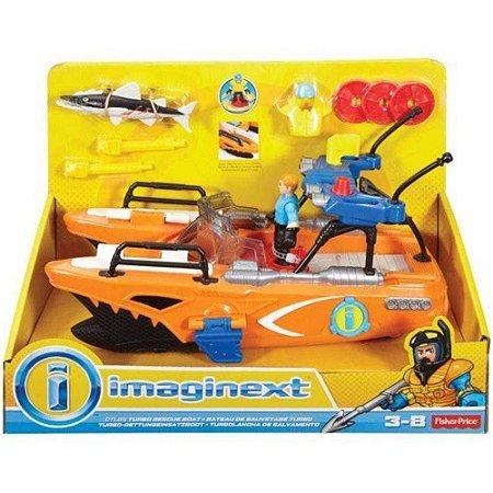 Brinquedo Barco Turbo Resgate - Imaginext