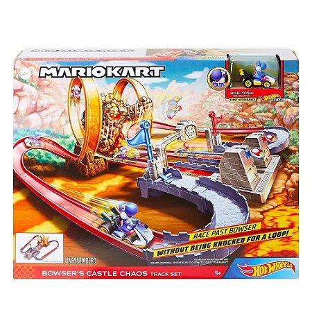 Hot Wheels Pista Mario Kart Circuito do Castelo Mattel