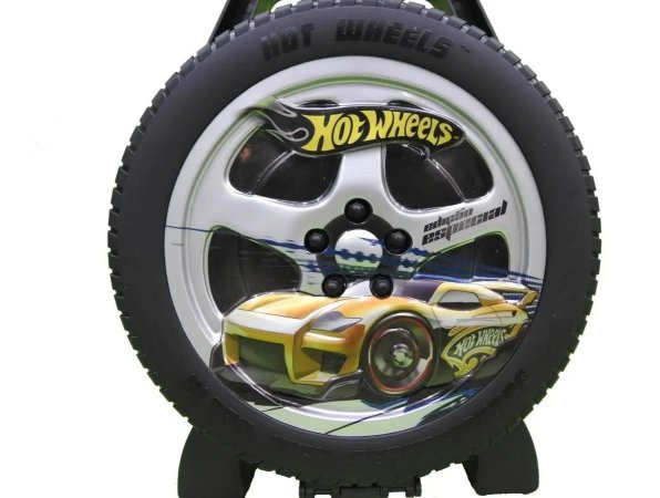 Hot Wheels Maleta Roda Radical Organizadora Original Mattel