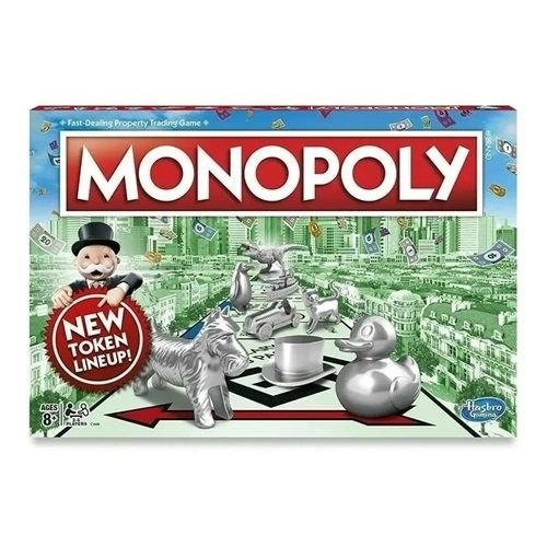 Jogo de Tabuleiro Monopoly Original Hasbro Gaming