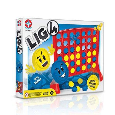 Jogo de Tabuleiro Super Jogo Lig 4 Clássico - Estrela