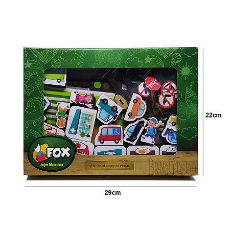 Brinquedo Jogo Educativo Jogo Educação no Trânsito Fox