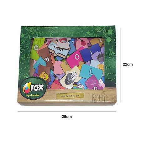 Brinquedo Jogo Educativo Jogo da Alfabetização Bebês Fox