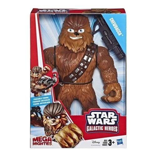 Boneco Chewbacca Star Wars 25cm Heróis Mega Mighties Hasbro