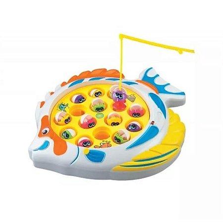 Brinquedo Jogo Pega Peixinho Pescaria Maluca