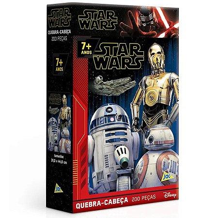 Jogo Quebra-Cabeça Star Wars 200 Peças