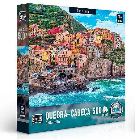 Jogo Quebra-Cabeça Bella Itália Cinque Terre 500 Peças