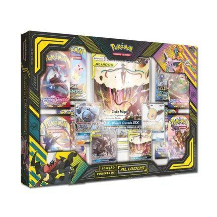 Jogo de Cartas Coleção Pokemon Poderes de Aliados