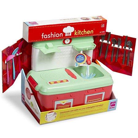 Cozinha Infantil Sai Água de Verdade Sortida Portátil