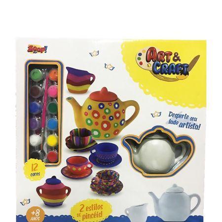 Art & Craft Kit Chá de Cerâmica para Pintar - Zoop Toys