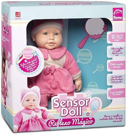 Boneca Fala com Você Sensor Doll Reflexo Mágico - Roma
