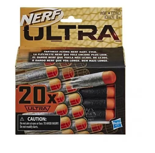 Dardo Nerf Ultra 20 Unidades Original Hasbro
