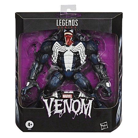 Boneco Venom Colecionável Articulado Marvel - Hasbro