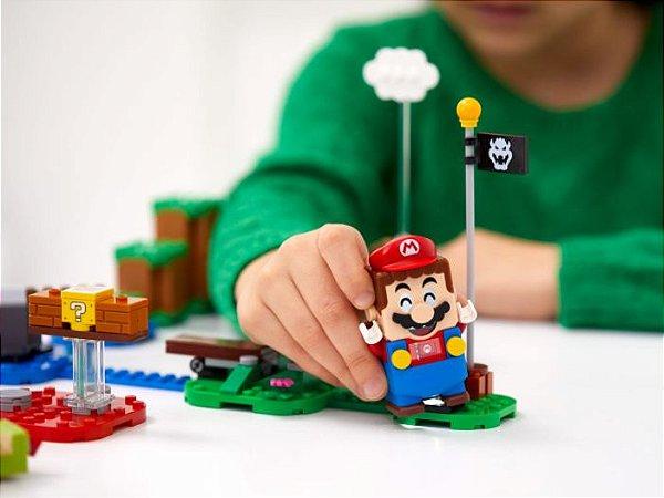 Super Lego Mario - Aventuras com Mario - Inicio 71360
