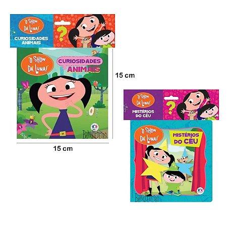Kit 2 Livros de Banho Bebê Show da Luna