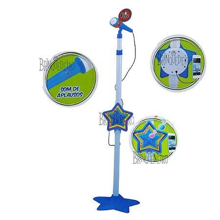 Microfone Karaokê Infantil Conecta no Celular