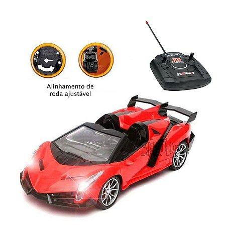 Carro de Controle Remoto Vermelho Velocidade