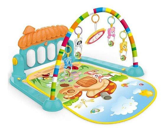Tapete Infantil Musical Com Mobile Bebê