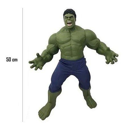 Boneco Hulk Gigante 50cm Vingadores Marvel Mimo