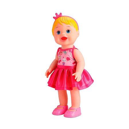 Boneca Loira Sorvetinho Faz Caquinha Diver Toys