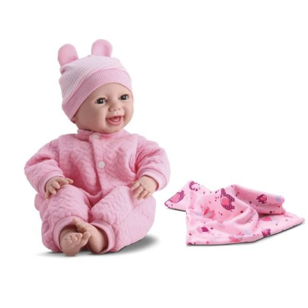 Boneca Bebê Reborn Soninho Com Mantinha Menina
