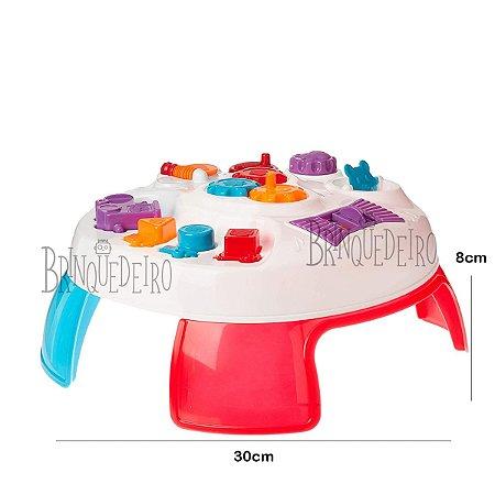 Brinquedo Mesinha Didática Para Bebê Divertida Colorida
