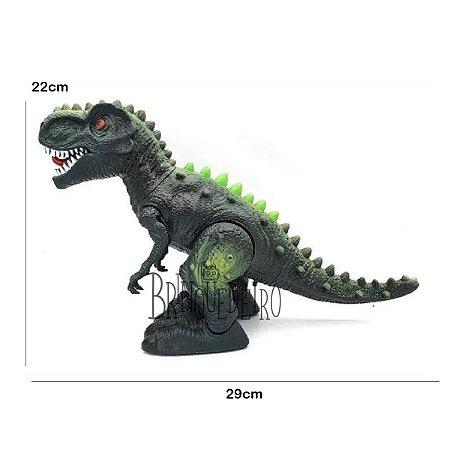 Brinquedo Dinossauro Tiranossauro Rex Com Som e Luz