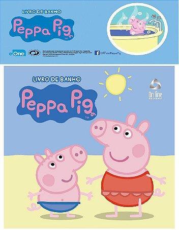 Livro de Banho Peppa Pig