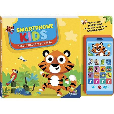 Livro Smartphone Celular Kids Tibor Encontra Sua Mãe