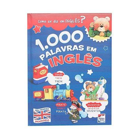 Livro 1.000 Palavras em Inglês - HAPPY BOOKS